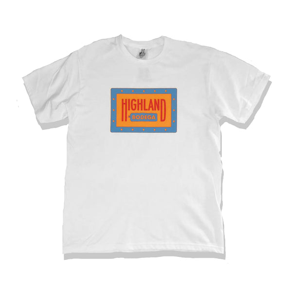 Highland Bodega T-Shirt - White