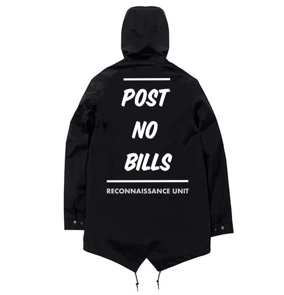 'Post No Bills'- Windbreaker