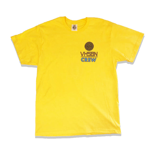 VHSBN Crew T-Shirt - Yellow