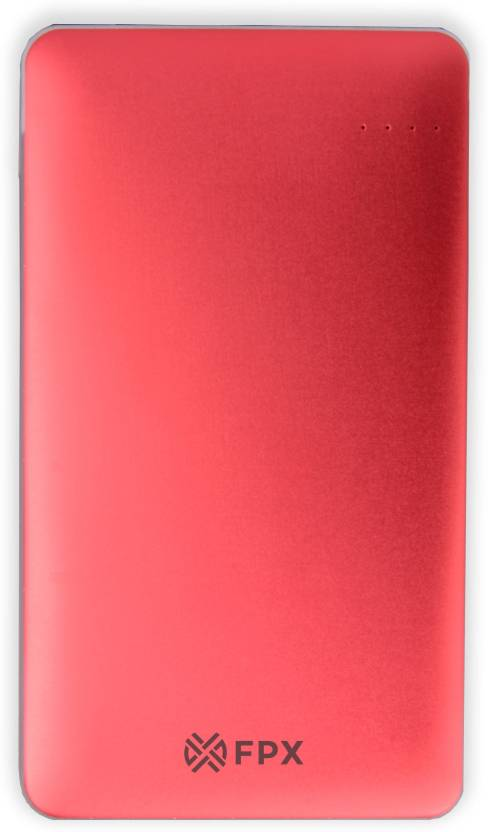 FoxProx 10000 mAh Power Bank (FPX42, 10000 mAh Royale Pink)  (Pink, Lithium Polymer)