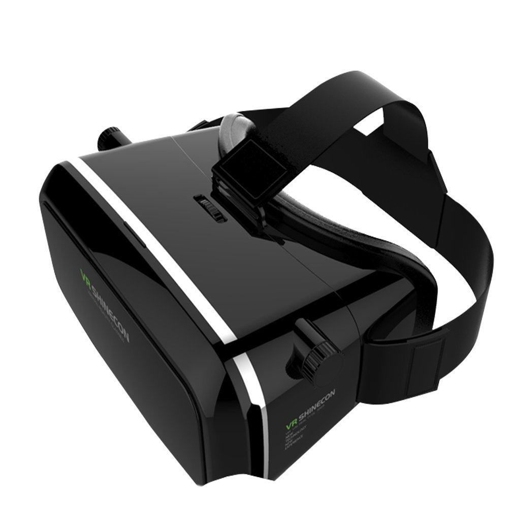 Premium Quality Polished HD optical lenses 3D glasses VR Box For Apple iPhone X / Virtual Reality Headsets For Apple iPhone X - Inspired by Google Cardboard - diabazaar.com