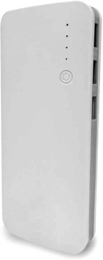 FoxProx 10000 mAh Power Bank (FX1010, F)  (White, Lithium-ion)