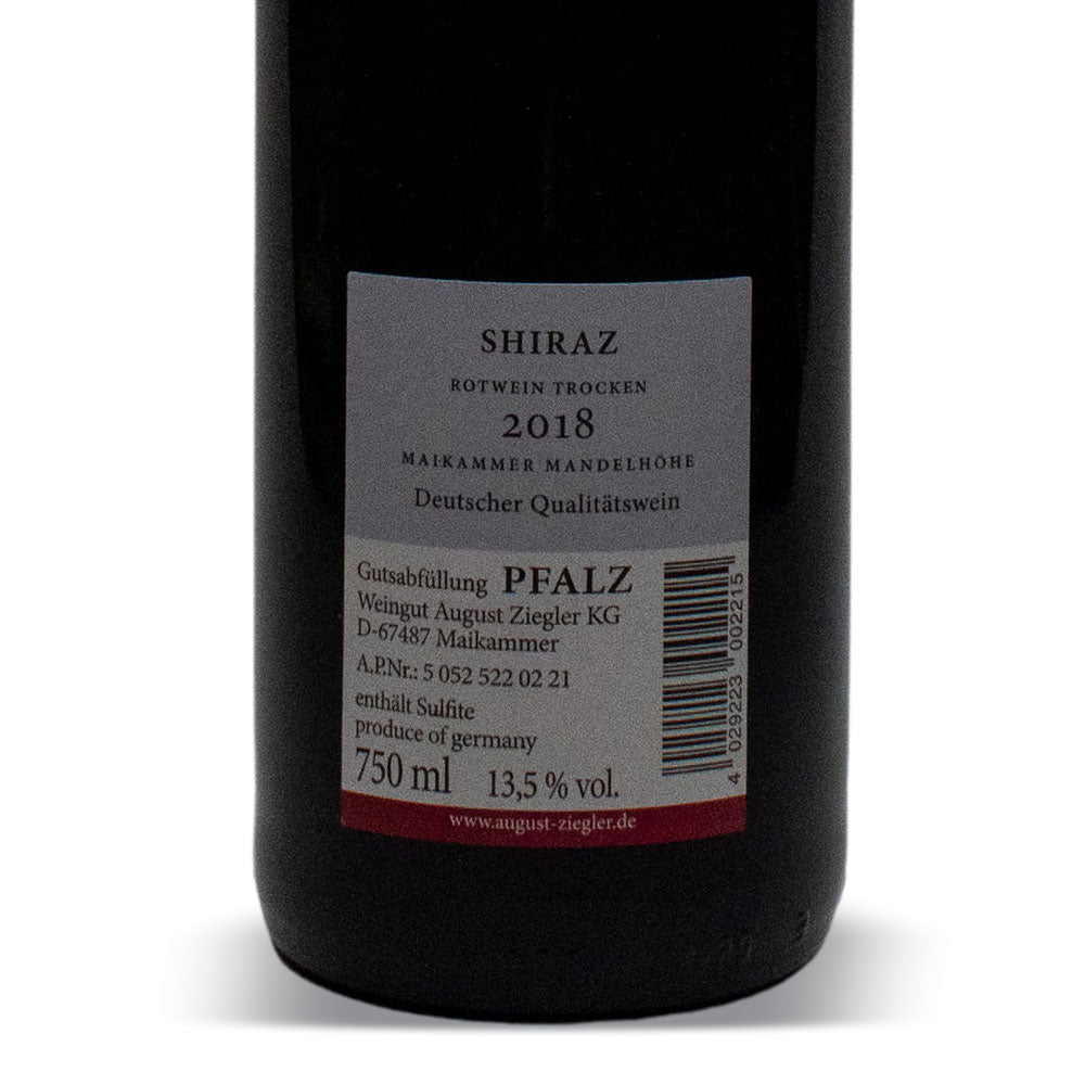 August Ziegler Shiraz rot