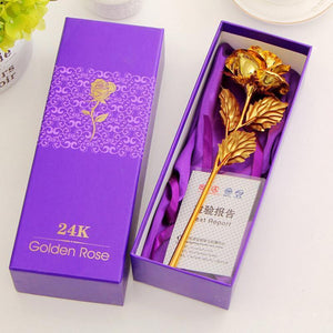 24k Gold Foil Rose - With Box yoyocenter