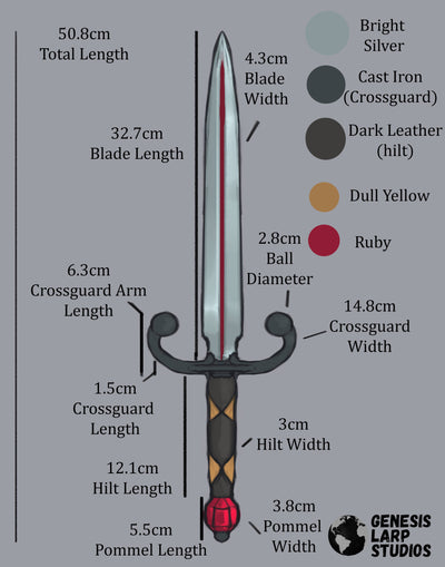 Ruby Parrying Dagger