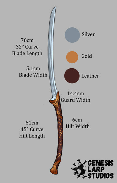 Elven Fighter Longsword