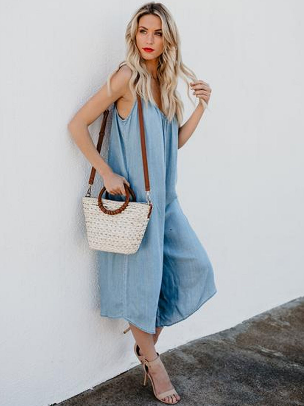 Sexy Jeans loose  Jumpsuit