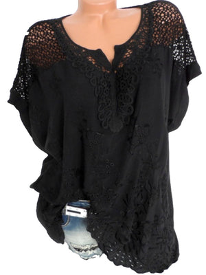 Outs Spitze Spitze Cut Outs Spitze Outs Mehrfarbig Bluse Bluse Mehrfarbig Cut Cut PiXuwkOZT
