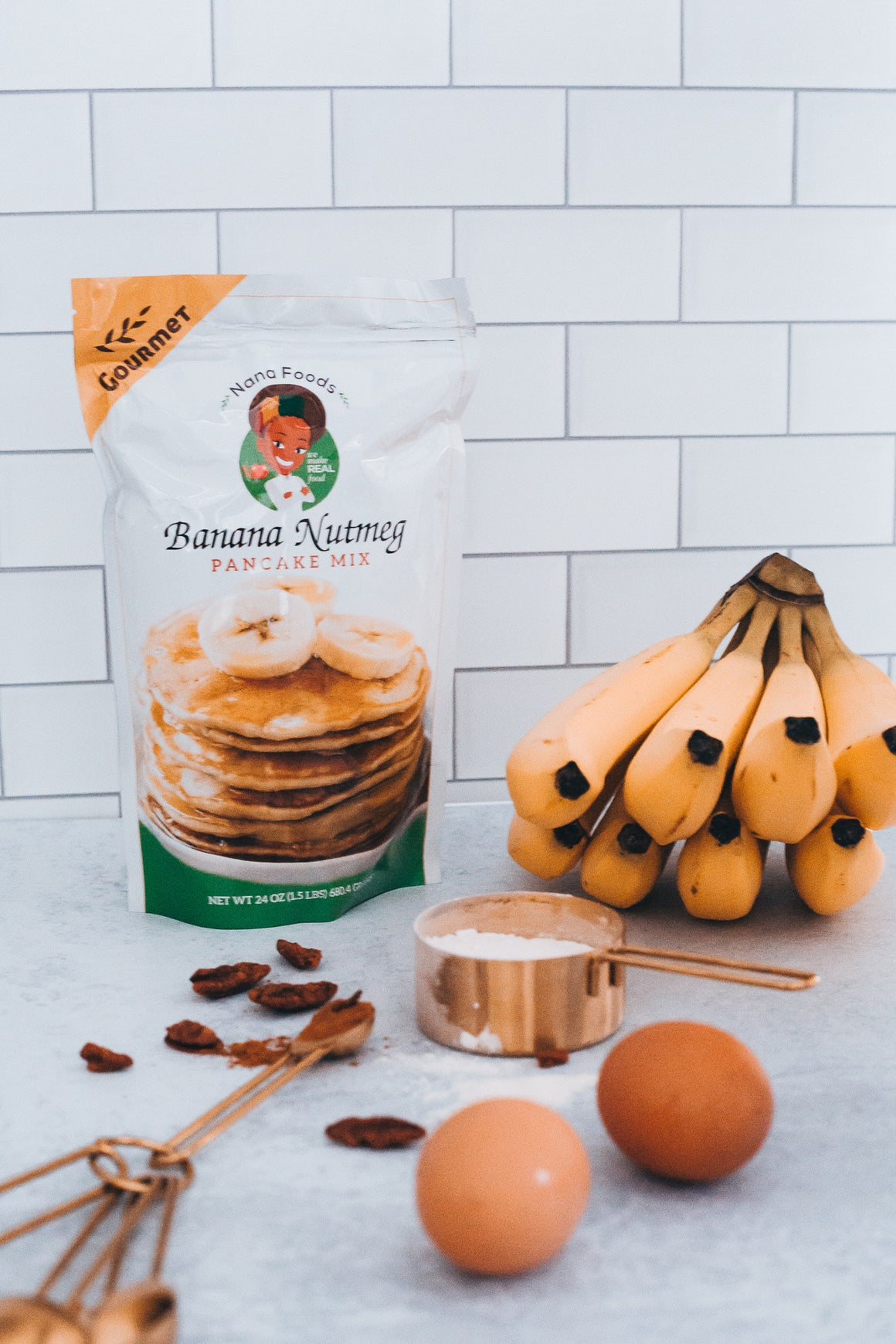 Banana Nutmeg Pancake Mix
