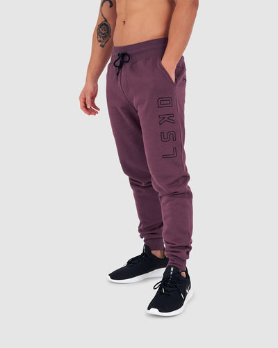 Tidy Trackpants - Faded Plum
