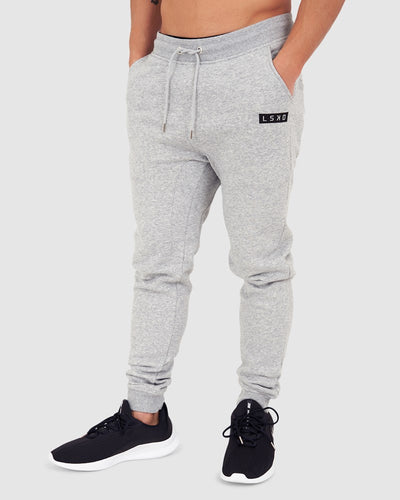 Ease Trackpant - Lt Grey Marl