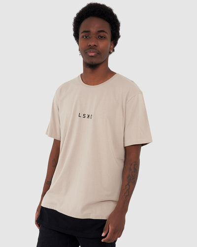 Beat Tee - Taupe