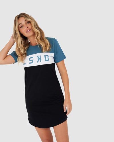 Dough Tee Dress - Ocean Green