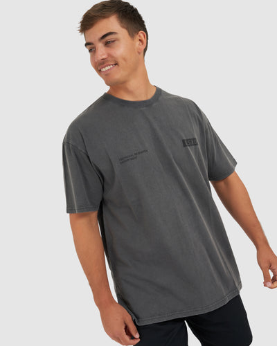 Department Tee - PIlled Pigment Charcoal