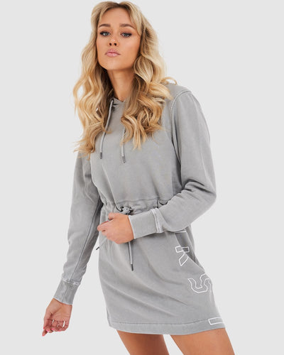 Impact Pullover Dress - Pilled Pigment Pewter