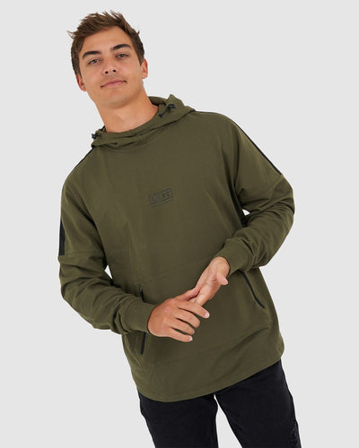 Sidelined Pullover Oversize - Olive Night