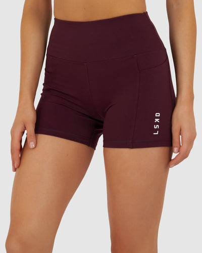 Rep X-Short Tight - Wine