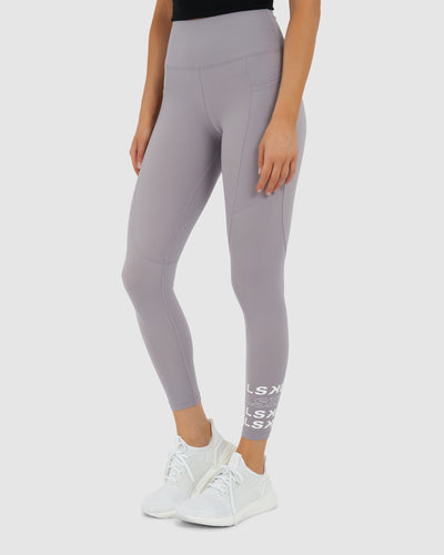 Repeater Tights - Grey Grape