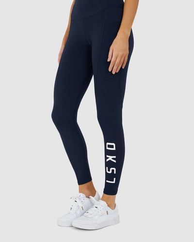 Rep Legging - Navy