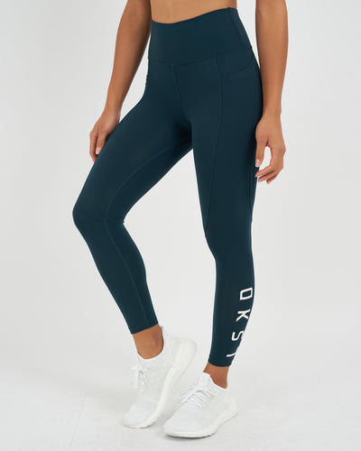 Rep 7/8 Legging - Deep Teal