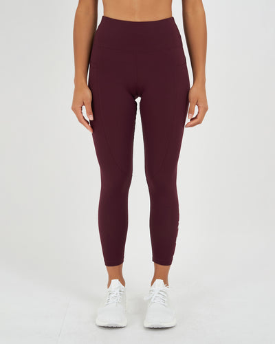 Rep 7/8 Legging - Wine