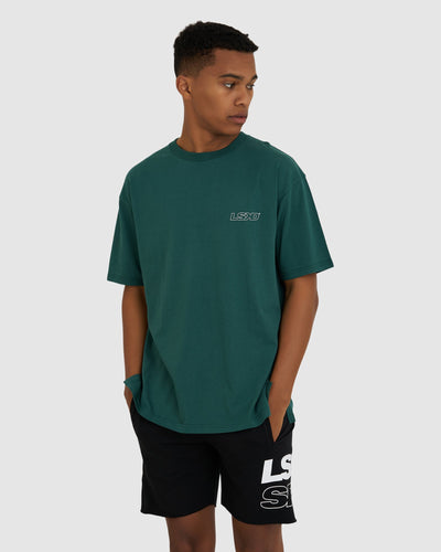 Attack Tee - Deep Emerald