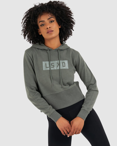 Mood Crop Pullover - Castor Grey