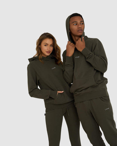 Unisex Base Pullover - Forest Night