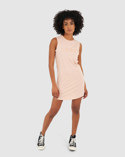 Structure Dress - Dusty Pink
