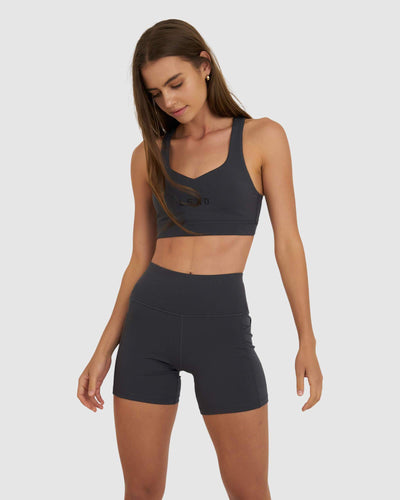 Rep Sports Bra - Asphalt