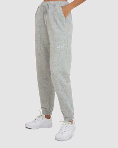 Fast Trackpants - Lt Grey Marl