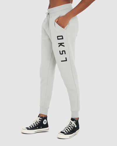 Unisex Structure Trackpant - Metal