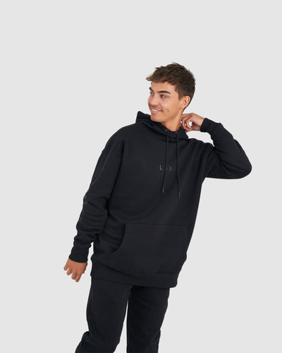 Connivance Pullover - Black-Black
