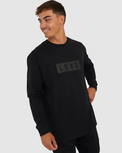Mood LS Tee - Black-Black