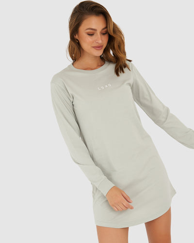 Structure LS Dress - Metal