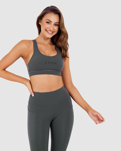 Rep Sports Bra - Shadow