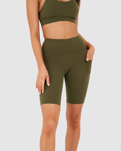 Rep Bike Short - Olive