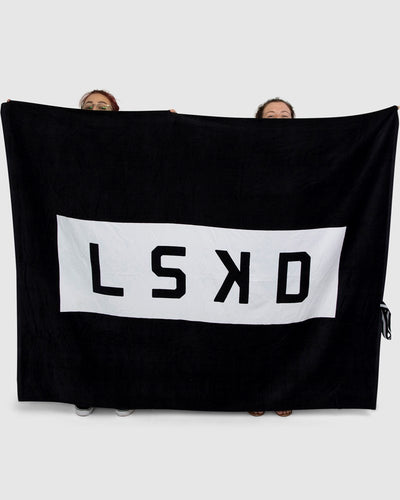 BAF Oversize Beach Towel - Black