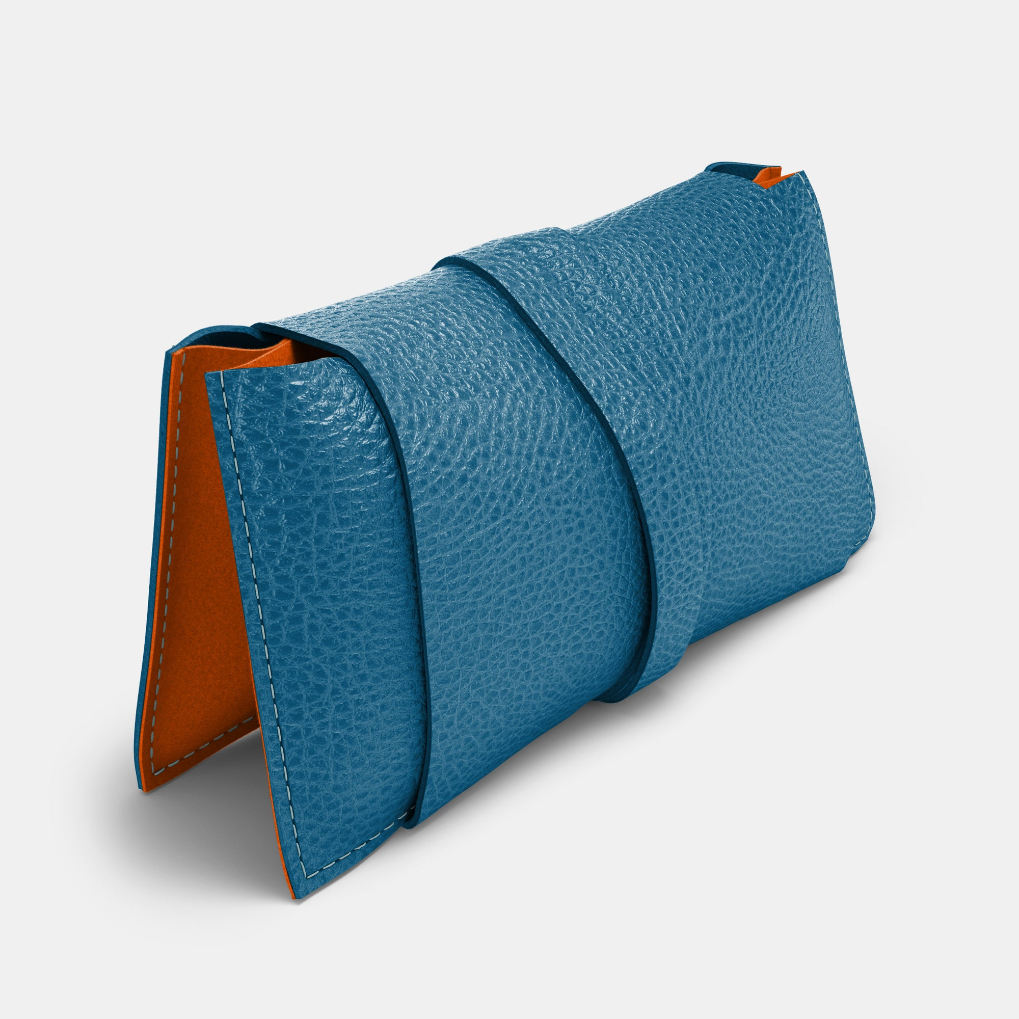 Cable Bag - Turquoise and Orange - RYAN London