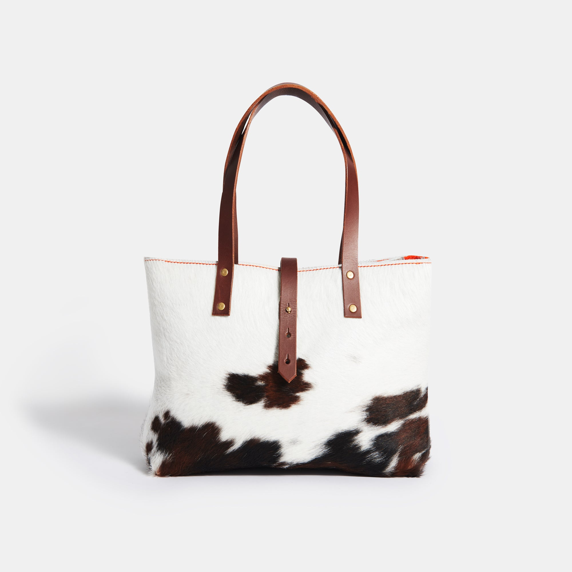 Hair-on Tote Bag+Zip - RYAN London