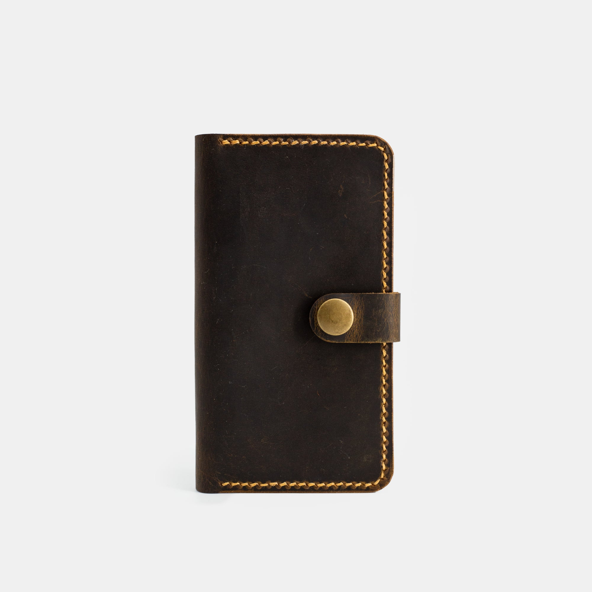 Wallet Case Antique Brown - RYAN London