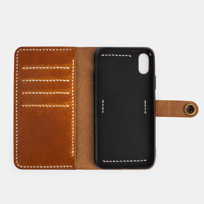 Wallet Case Tan Brown