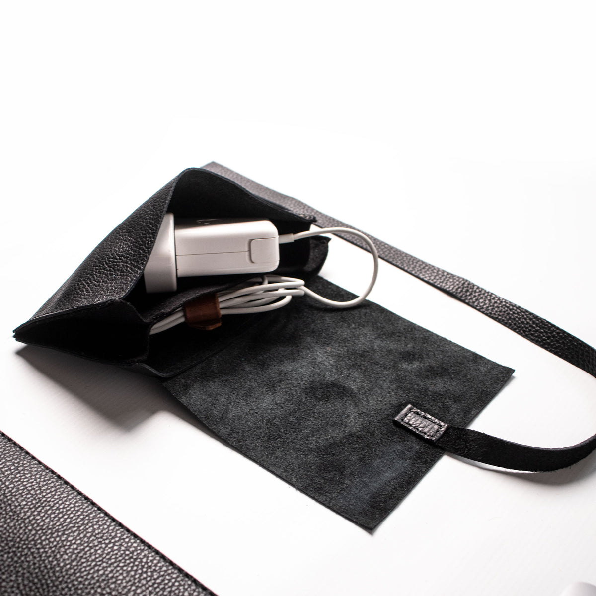 Cable Bag - Black and Black - RYAN London