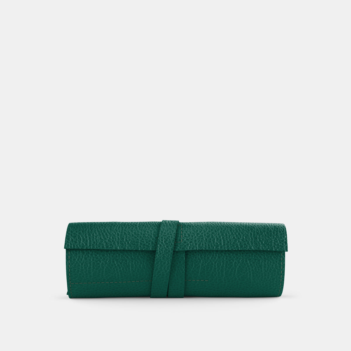 Leather Roll - Avocado and Orange - RYAN London