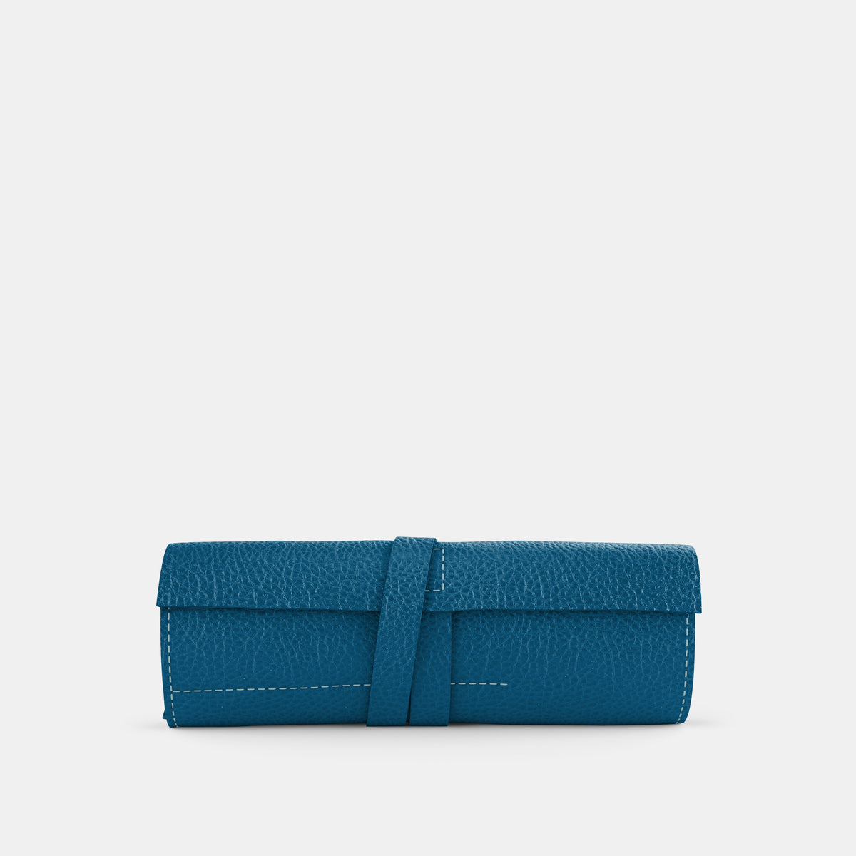 Leather Roll - Turquoise and Orange - RYAN London