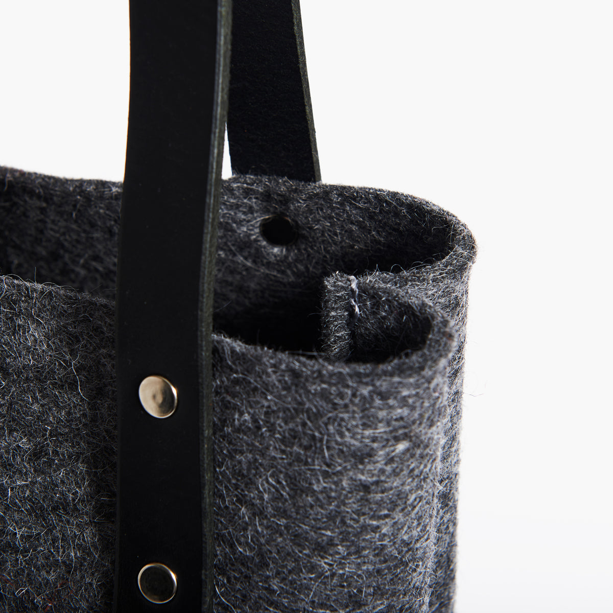 Tall Wool Felt Tote - RYAN London