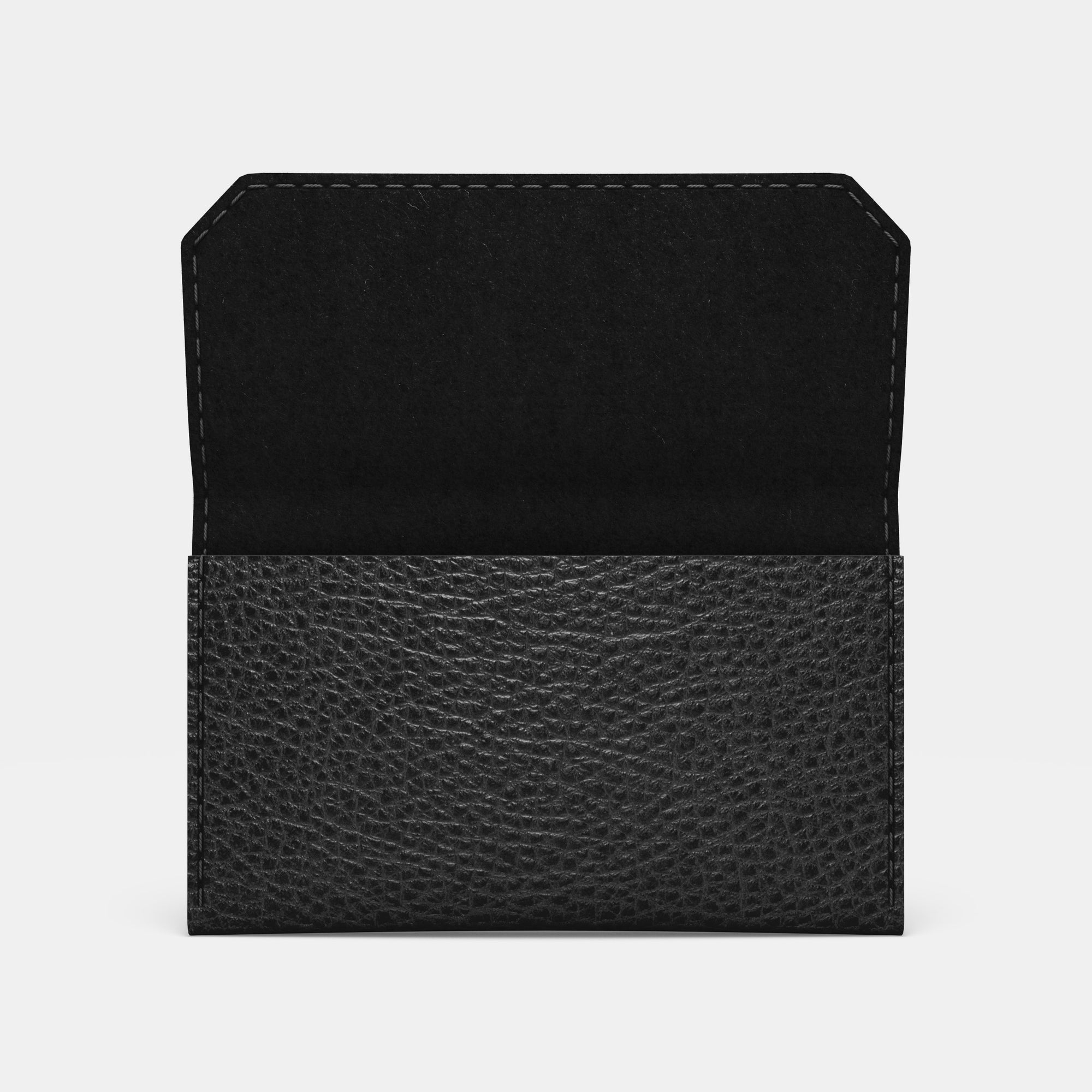 Carry-all Wallet - Black and Black - RYAN London