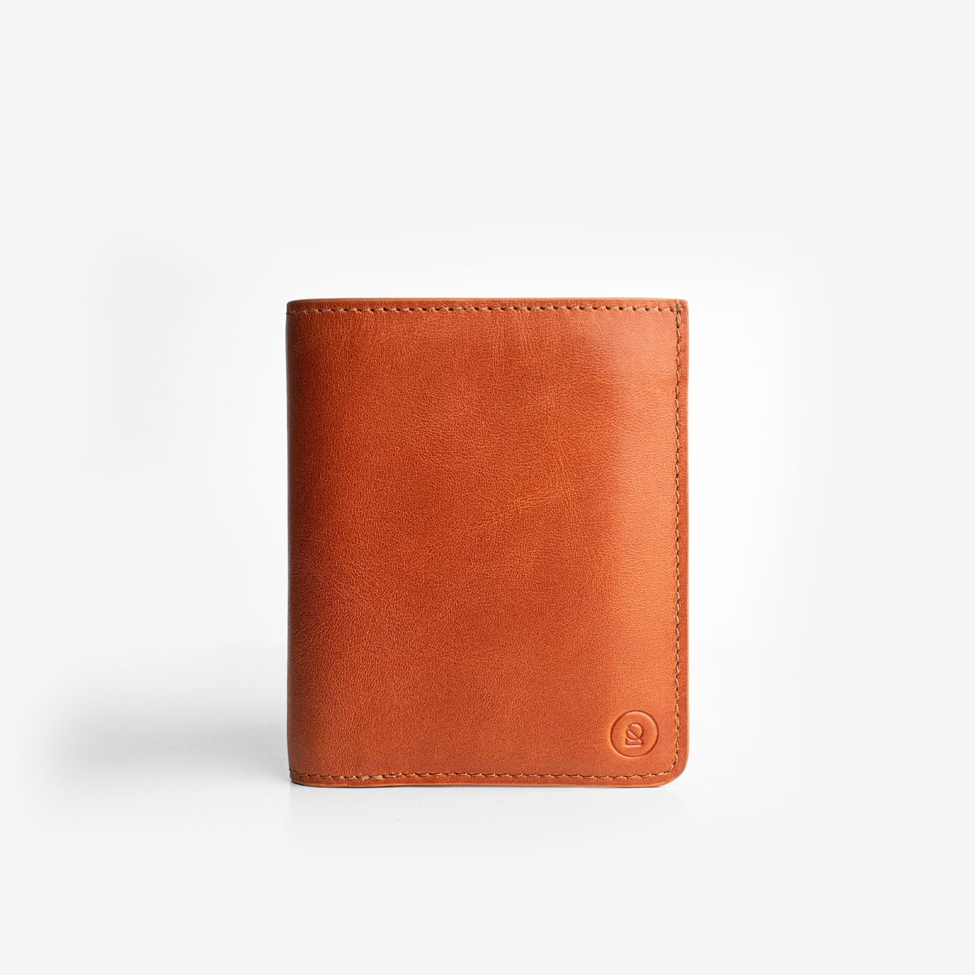 Super Slim Bi-Fold Wallet - Saddle Brown - RYAN London