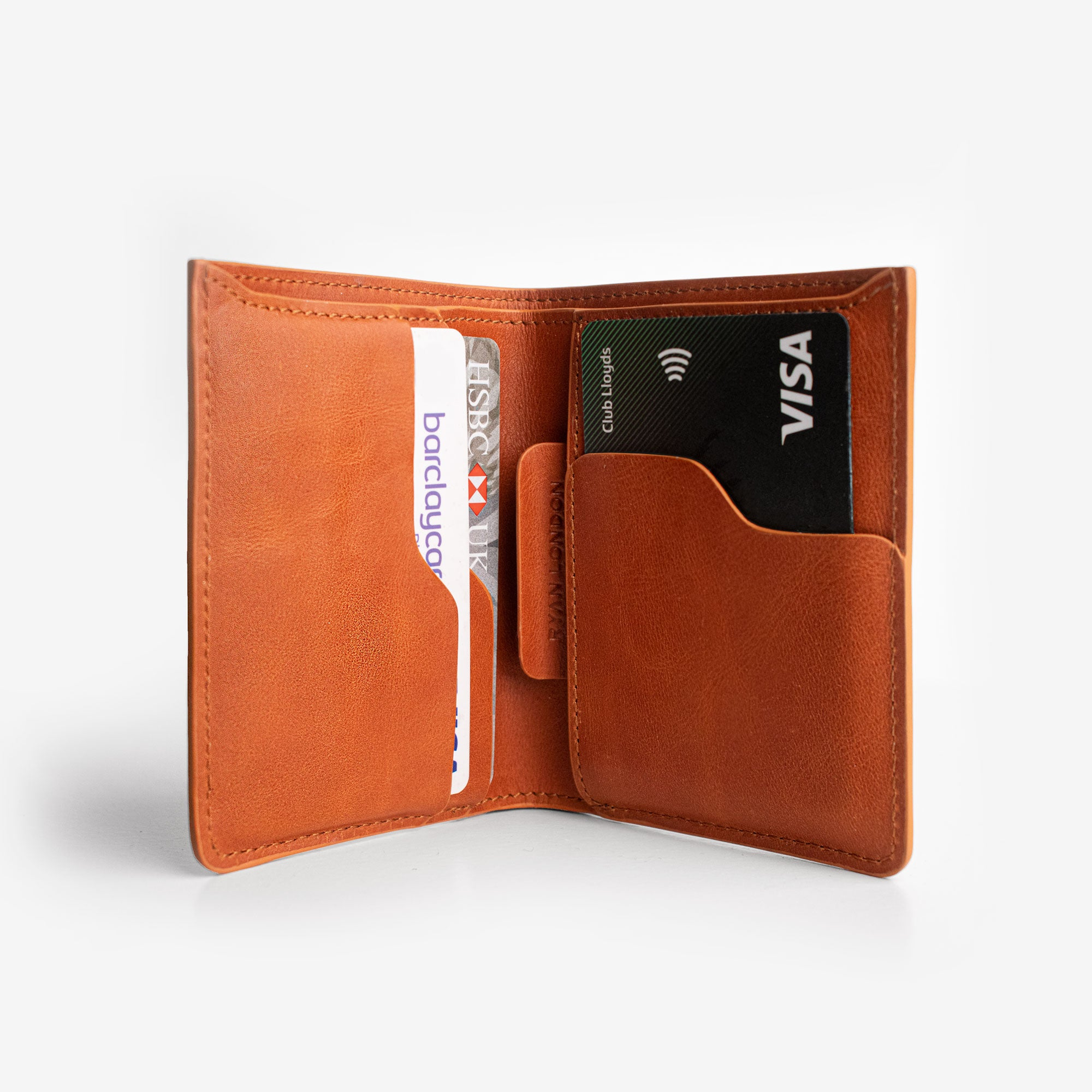 Super Slim Bi-Fold Wallet + iPhone Case - Saddle Brown - RYAN London