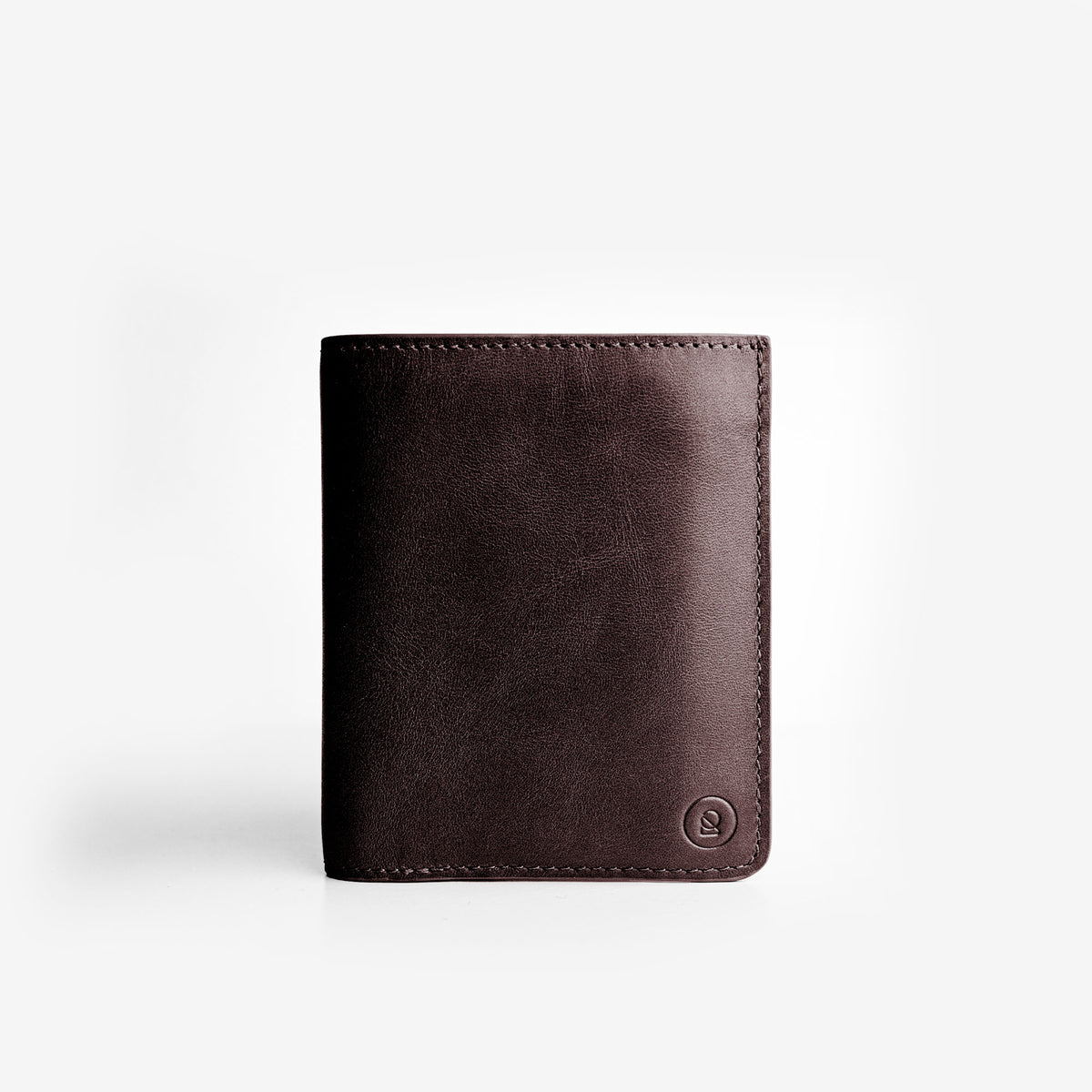 Super Slim Bi-Fold Wallet + iPhone Case - Deep Brown